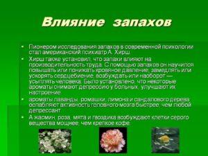 Как влияет запах криазота на организм человека