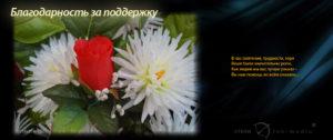 Благодарность за похороны мамы