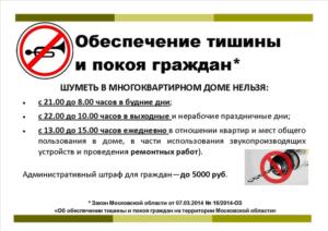 Поправки закон о тишине спб 2017