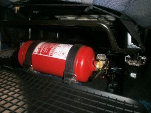 Объем огнетушителя для автомобиля по правилам