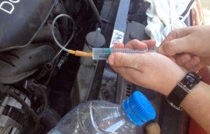 Как слить чуть масла с двигателя