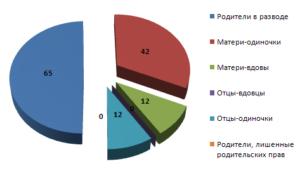 Количество матерей одиночек в россии статистика
