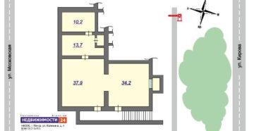 Если два нежилых помещения соедены входом