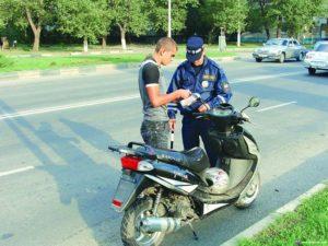 Штраф за езду без шлема на мотоцикле