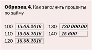 Проценты по договору займа в 6 ндфл